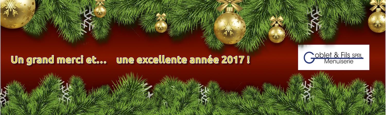 Merci … et meilleurs voeux pour 2017 !