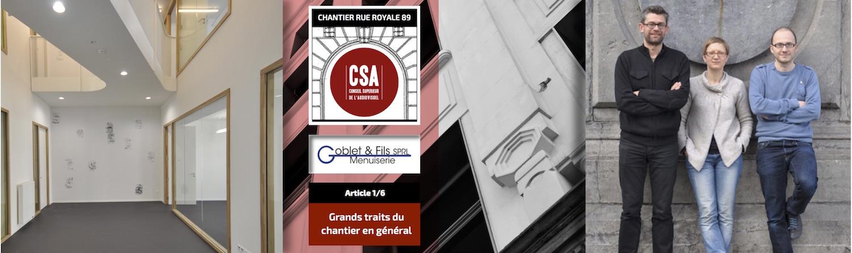Site CSA – Plus qu'un chantier : une vitrine !