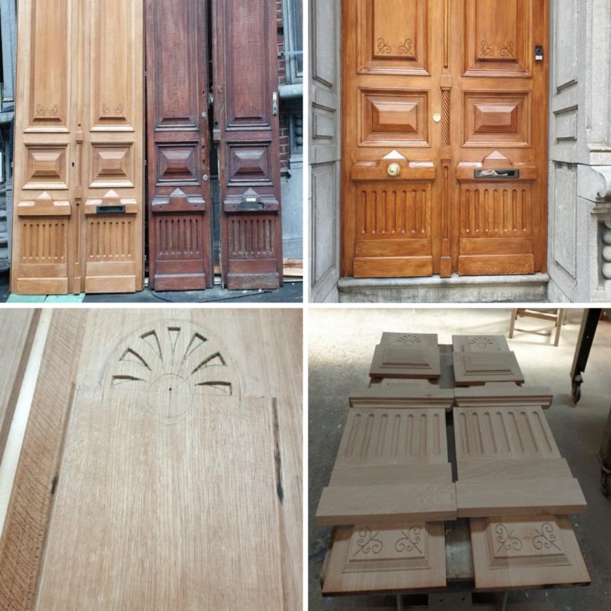 porte-de-maître-porte-de-style-Charleroi-Chatelet-Fleurus-Courcelles-La-Louvière-2
